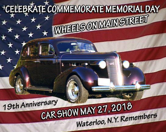 Rochester Corvette Club Waterloo Wheels On Main Street - Rochester car show
