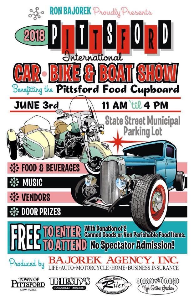 Rochester Corvette Club PITTSFORD CAR AND BIKE SHOW - Car show event insurance